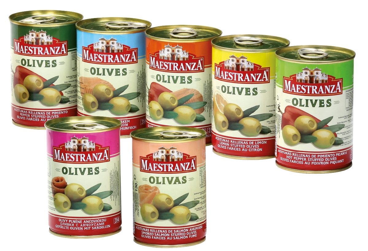 SPECIALTIES STUFFED MANZANILLA OLIVES